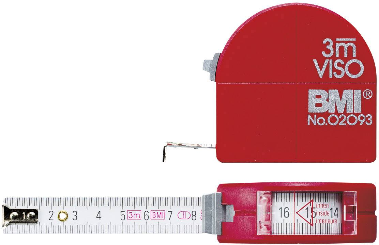 Svinovací metr 3 m BMI Viso, 405341010, ocel