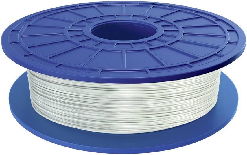 Vlákno pro 3D tiskárny Dremel 26153D70JA, PLA plast, 1.75 mm, 0.5 kg, bílá (transparentní)