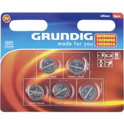 Grundig sada knoflíkových baterií knoflíkové, 5 ks