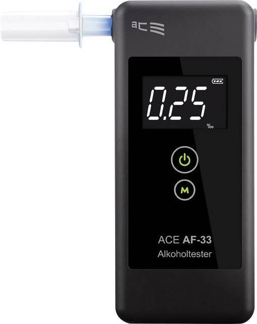 Alkohol tester ACE AF-33, tmavě šedá