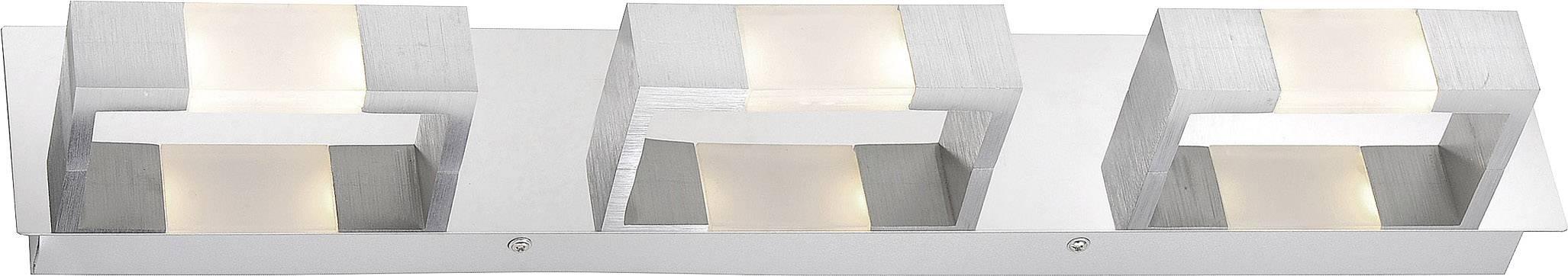LED nástenné svetlo Paul Neuhaus Kemos 2196-96, 14.4 W, teplá biela, hliník