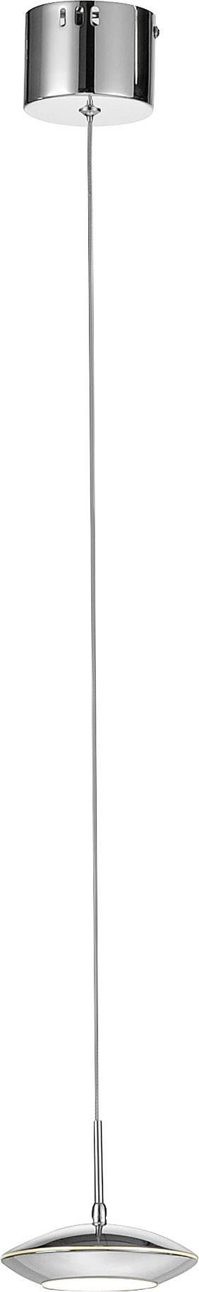 LED závesné osvetlenie Paul Neuhaus Tebutt 2701-17, 5 W, teplá biela, chróm