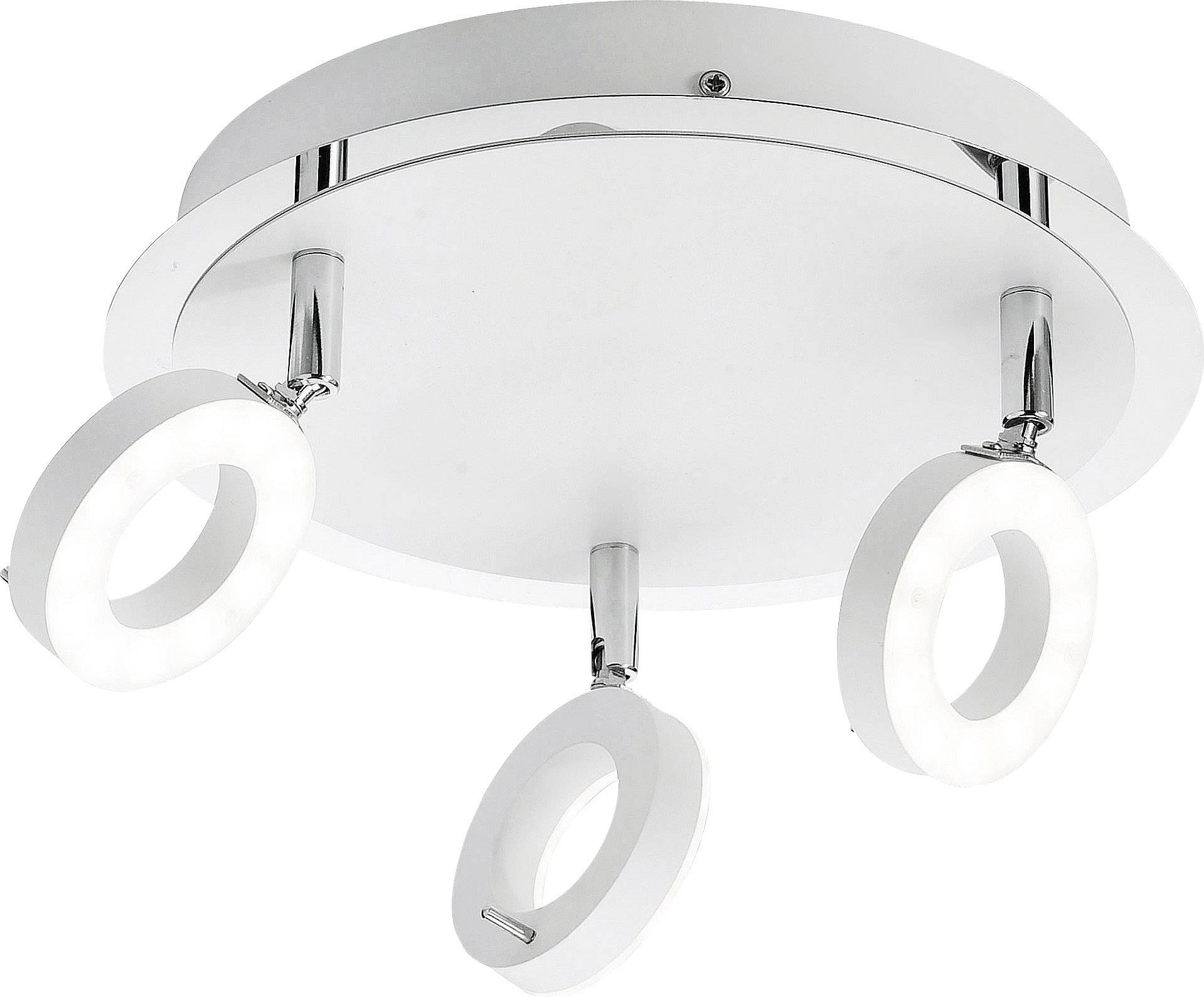 LED koupelnové stropní světlo Paul Neuhaus Sileda 6788-16, 18 W, teplá bílá, bílá