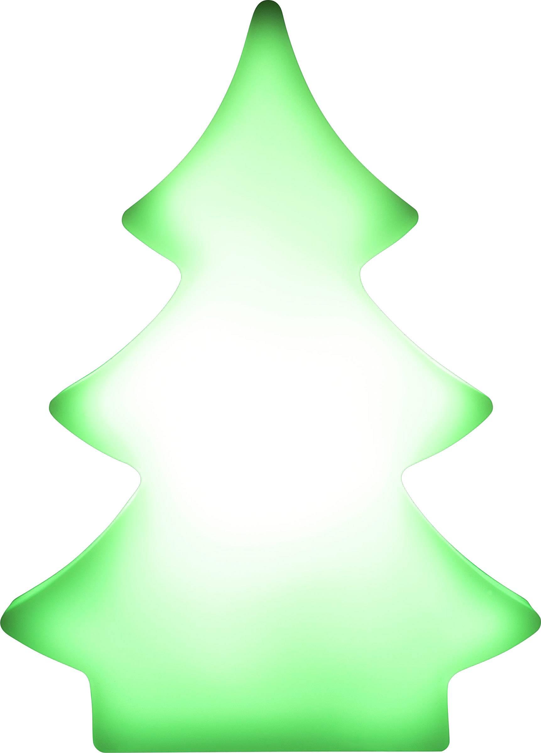 Stolný LED vianočný stromček Polarlite LBA-51-013, na batérie, RGB