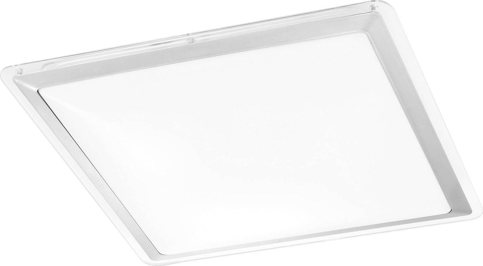 LED koupelnové stropní světlo LeuchtenDirekt Labol 14267-55, 12 W, teplá bílá, ocelová