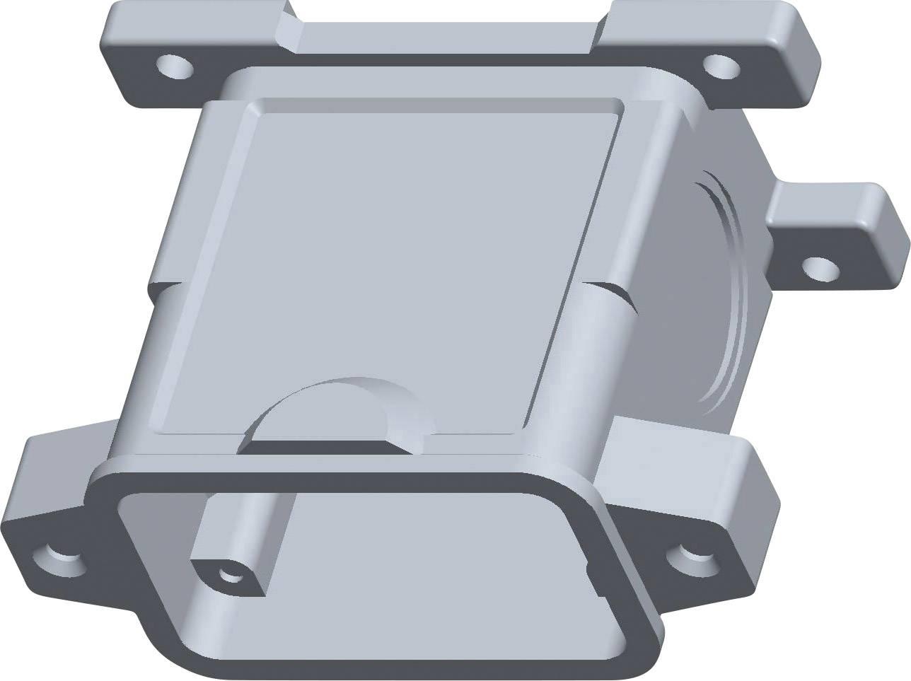 Pouzdro konektoru TE Connectivity EMV-K.10/24.SG.2.M32.G T1950100132-000, IP68, černá, 1 ks
