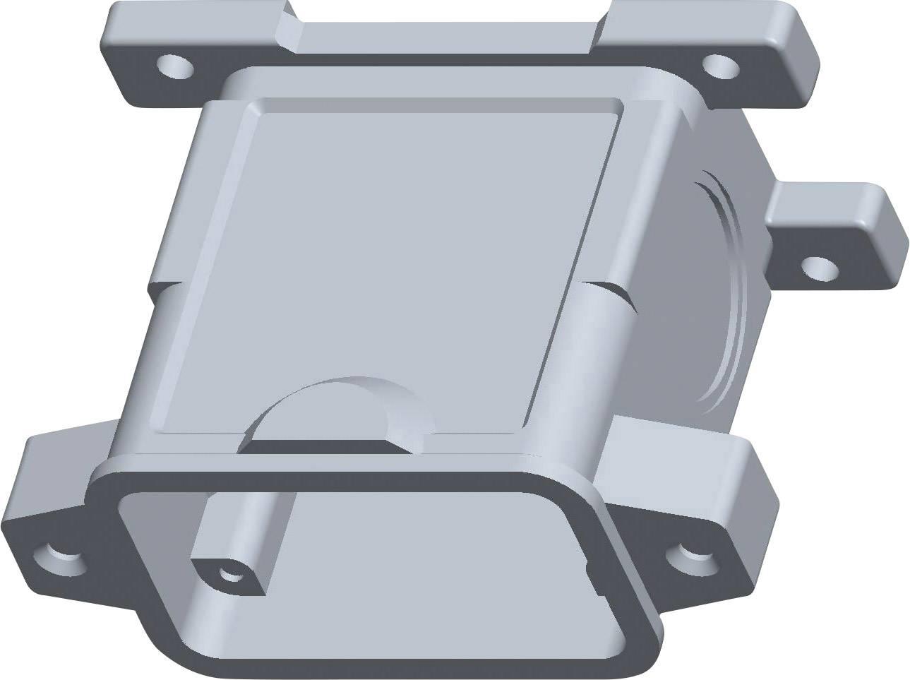 Ochranná krytka TE Connectivity HIP.10/24.SG.2.M32.G 1106435-1, IP68, striebornosivá, 1 ks