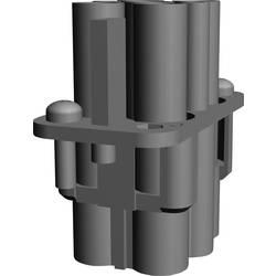 Súprava konektorovej zásuvky TE Connectivity 1103096-1, 4 + 2 + PE, krimpované , 1 ks