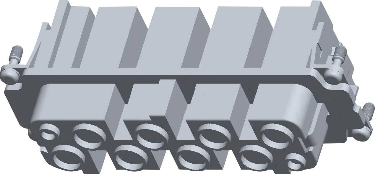 Sada konektorové zásuvky HSS TE Connectivity 2-1104202-3, počet kontaktů 8 + 2 + PE, 1 ks
