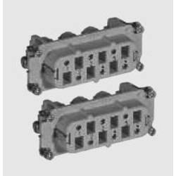 Vložka pinového konektoru TE Connectivity 1-1104207-1, počet kontaktů 6 + PE, 1 ks