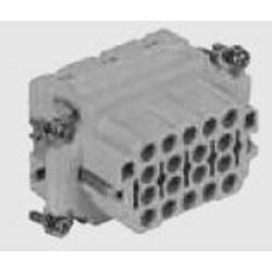 Konektorová vložka, zásuvka TE Connectivity 1102898-1, počet kontaktů 18, 1 ks