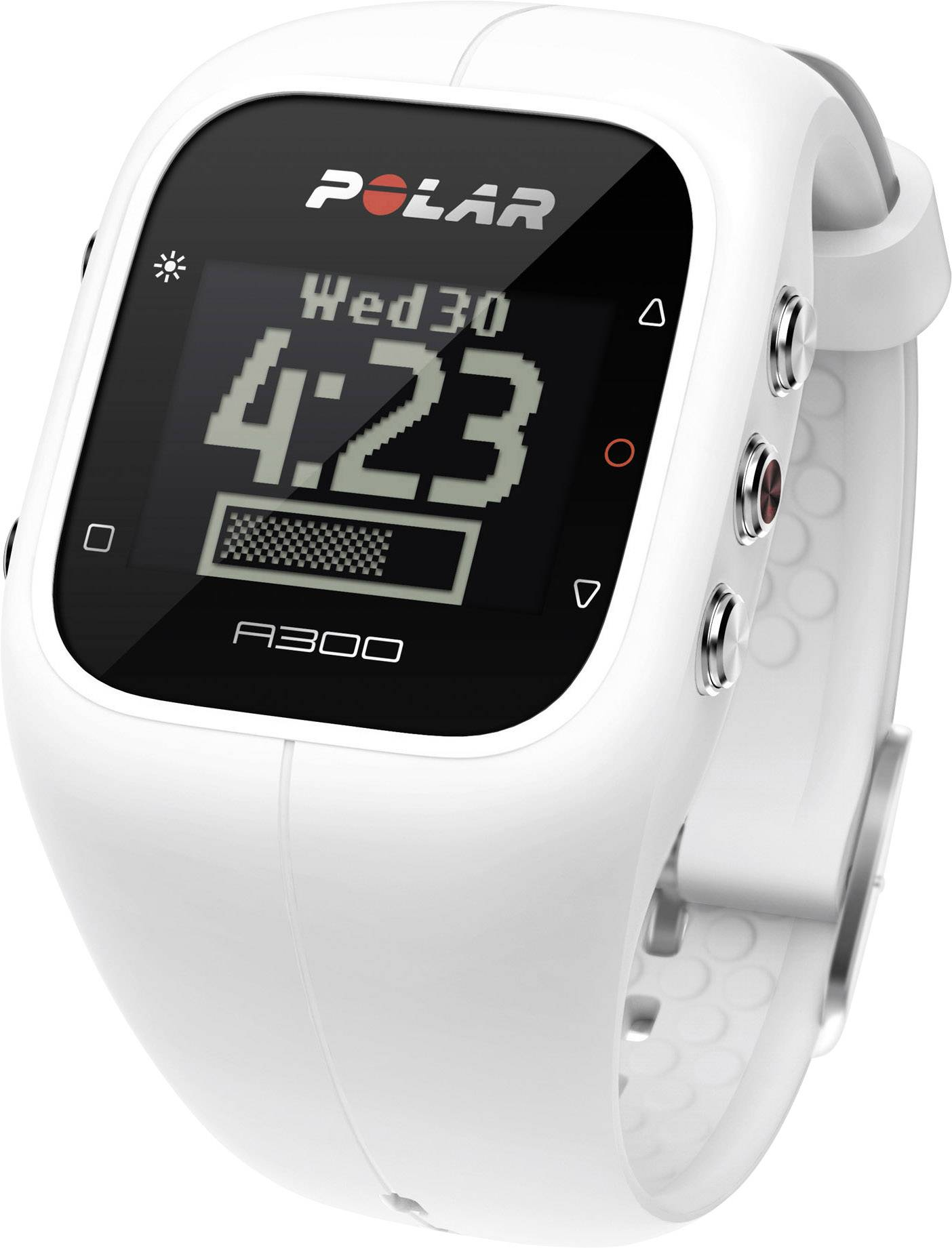 Polar Bracelet A300 Powder White biela
