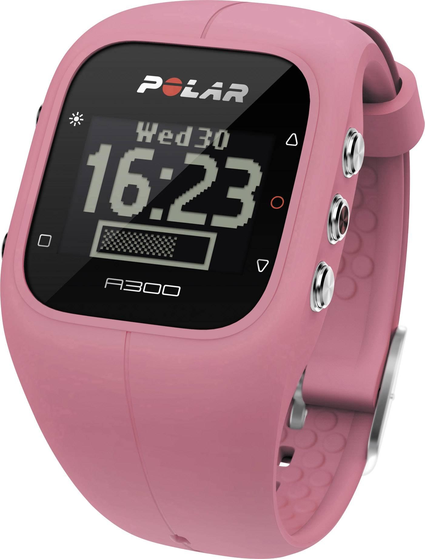 Polar A300 Sorbet Pink Armband ružová