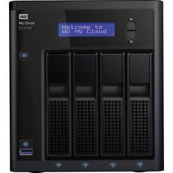 NAS server WD My Cloud™ EX4100 WDBWZE0320KBK-EESN, 32 TB, vybaven s WD RED, integrovaný displej