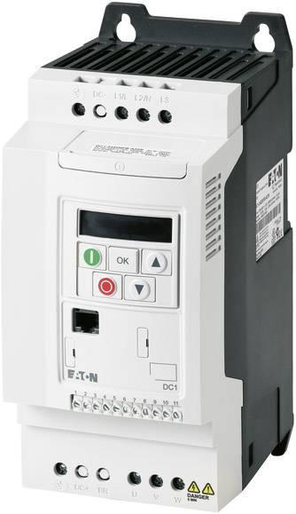 PowerXL™ frekvenční měnič DC1, 3-/3-fázový 4 kW Eaton DC1-349D5FB-A20CE1 2fázový