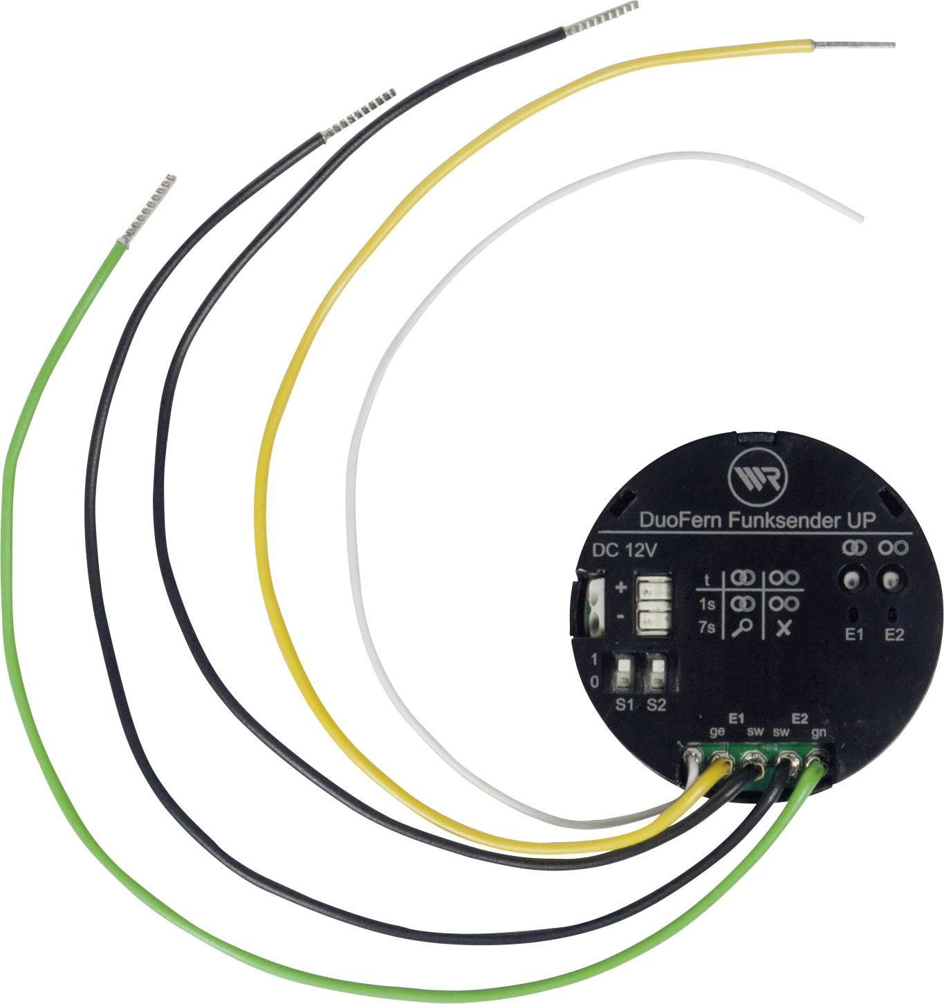 Bezdrôtový vysielač pod omietku WR Rademacher DuoFern 9497