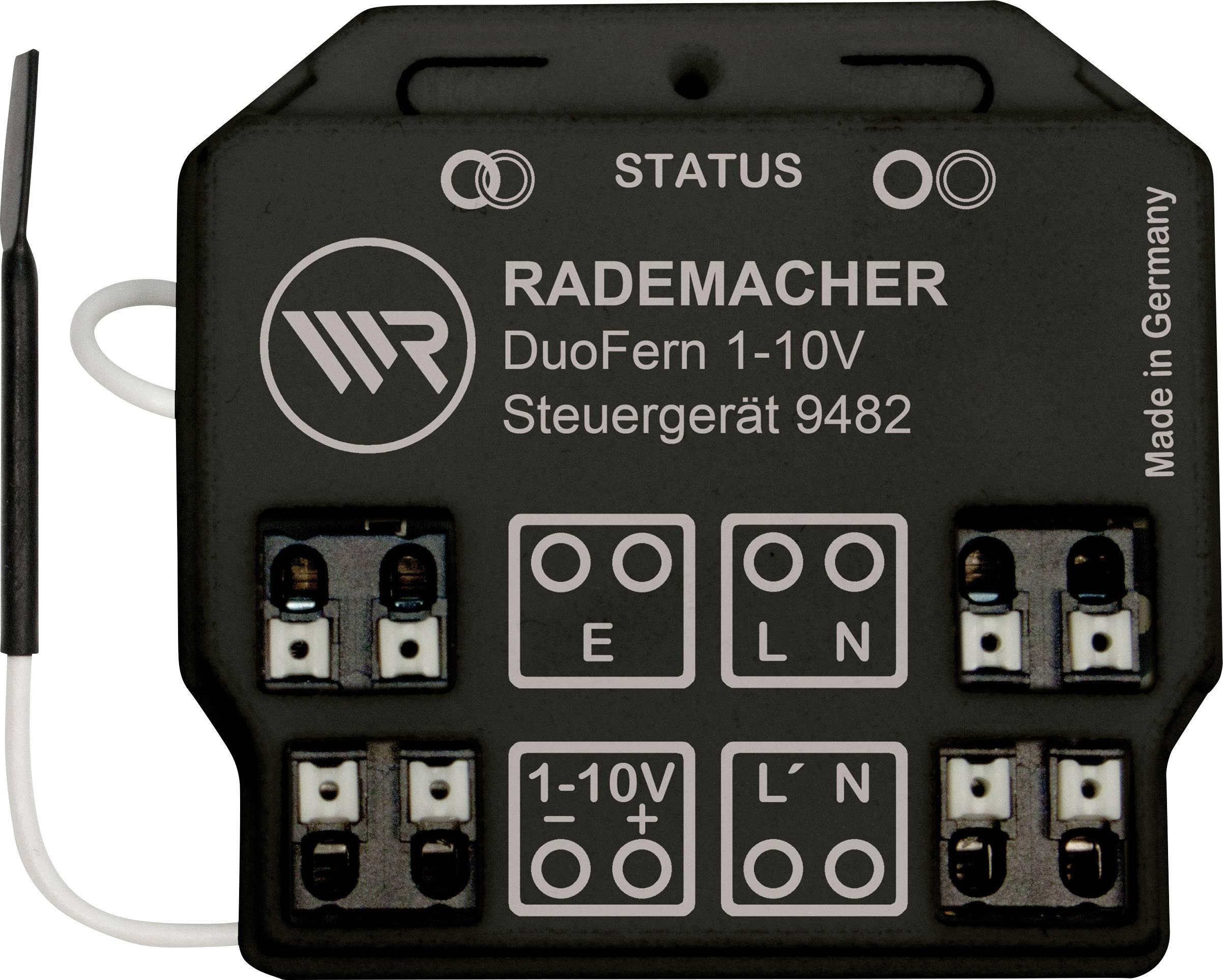 Bezdrôtový spínač WR Rademacher Rademacher DuoFern Steuergerät 1-10V DuoFern 35001262, 1-kanálový