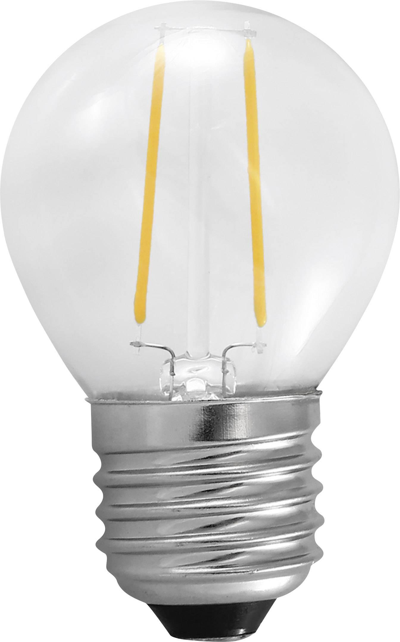 LED žiarovka Segula 60378 230 V, 2 W = 25 W, teplá biela, A++, vlákno, 1 ks