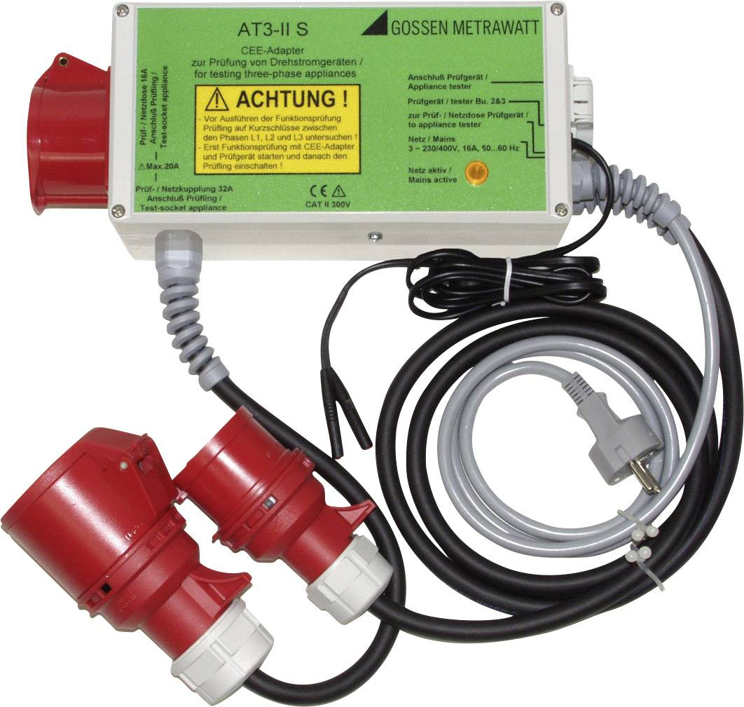 Adaptér na meranie Gossen Metrawatt CEE16 / 32 AT 3 II S Z745T