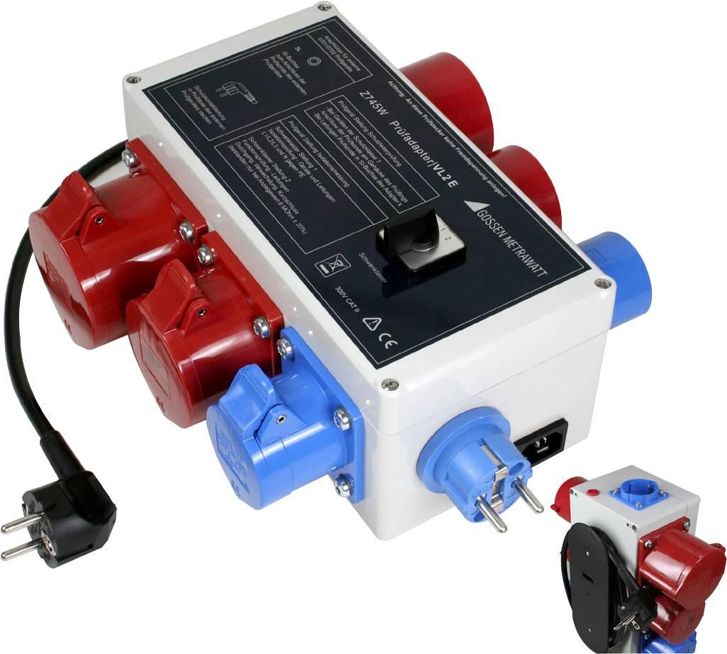 Měřicí adaptér pro pasivní testování prodlužovacích šňůr Gossen Metrawatt VL2E Z745W