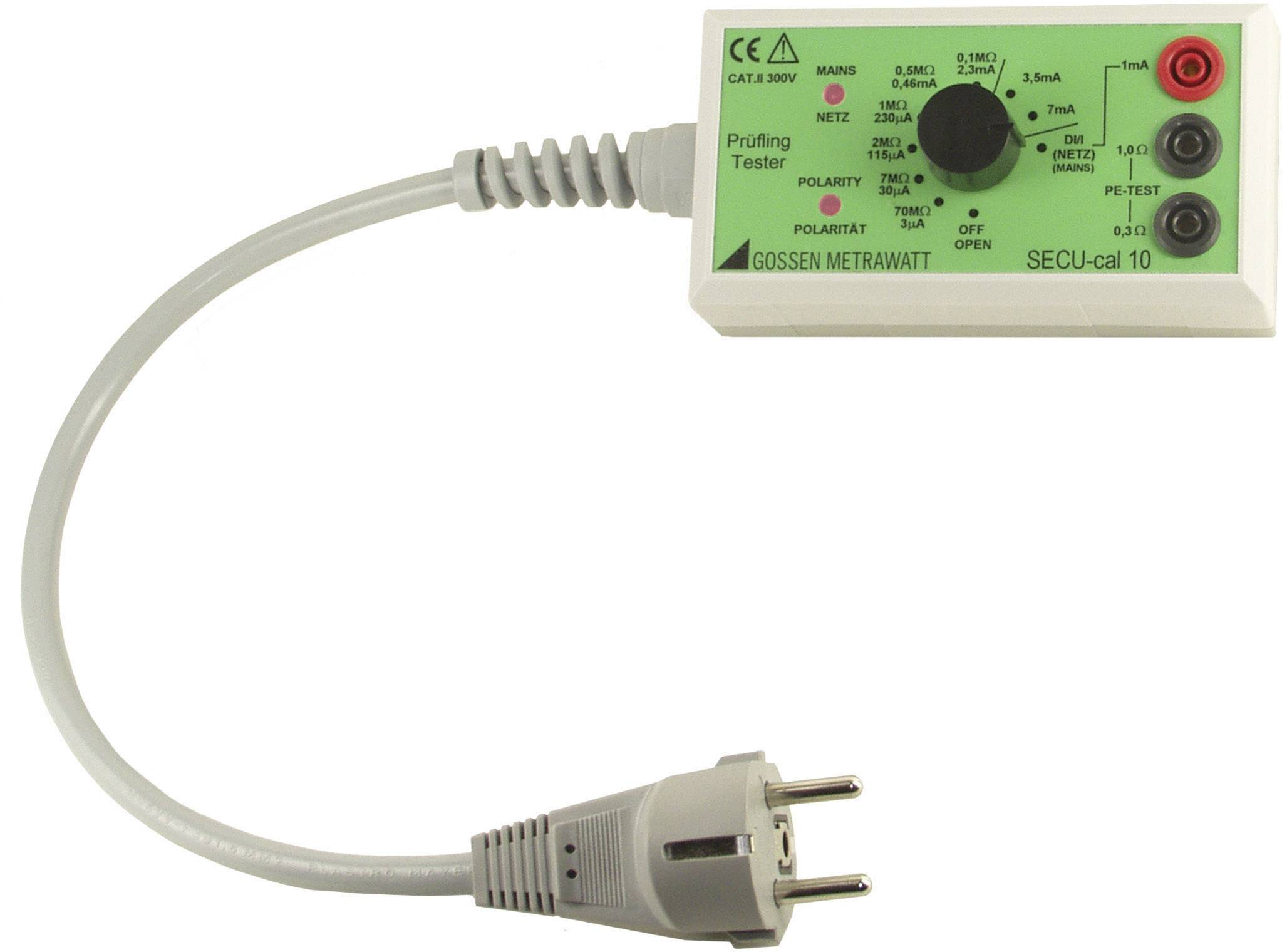 Kalibrační adaptér SECU-CAL 10 pro zkoušečku SECUTEST Gossen Metrawatt Z715A