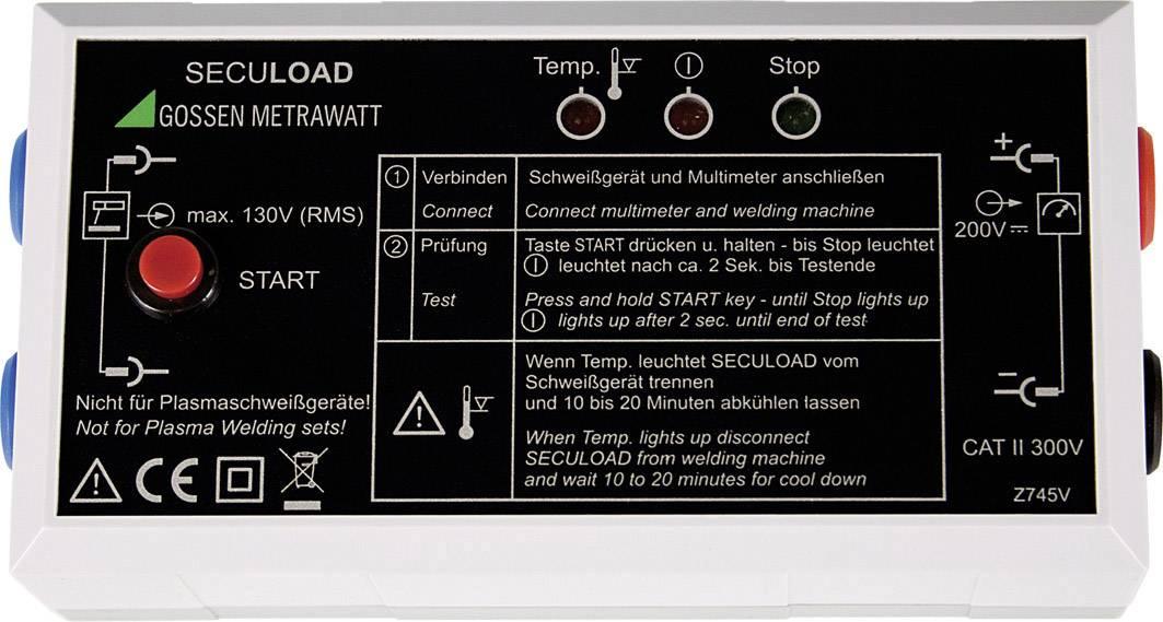 Testovací adaptér SECULOAD Gossen Metrawatt Z745V