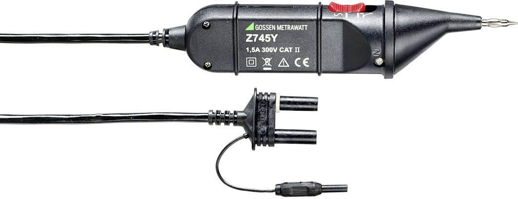 Testovací sonda PGS10 s generátorem pulsů Gossen Metrawatt Z745Y