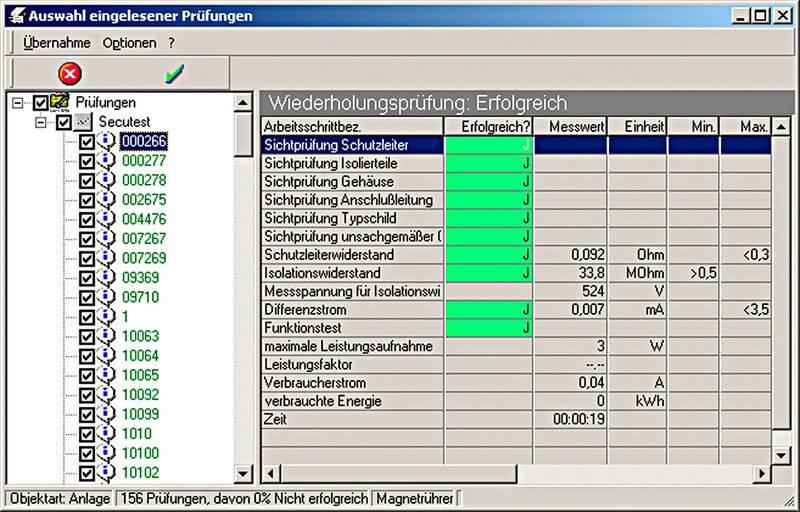 Softwarový modul pro analýzu rizik Z531M Gossen Metrawatt PS 3