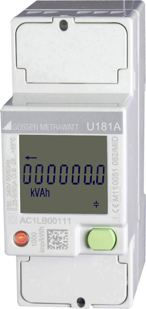 Digitální jednofázový elektroměr Gossen Metrawatt U181A, 80 A