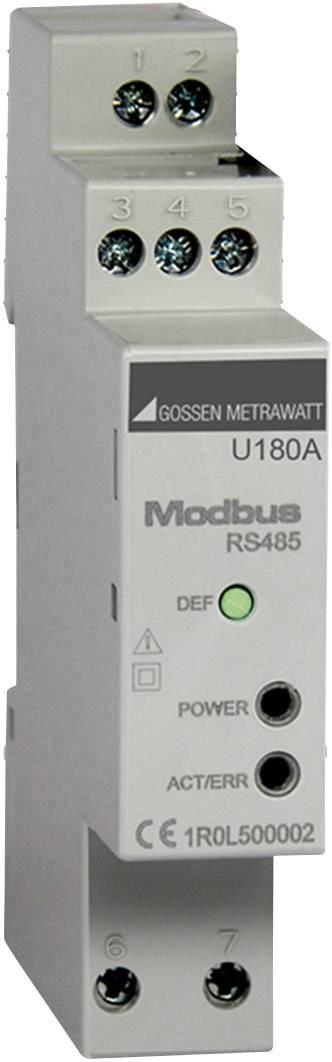 Rozhranie Modbus pre elektromery U181x - U189x MID Gossen Metrawatt U180A U180A