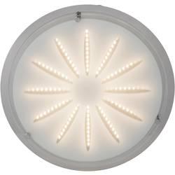 LED stropní svítidlo Brilliant Cathleen G94163/15, 15 W, Vnější Ø 33 cm, teplá bílá, chrom