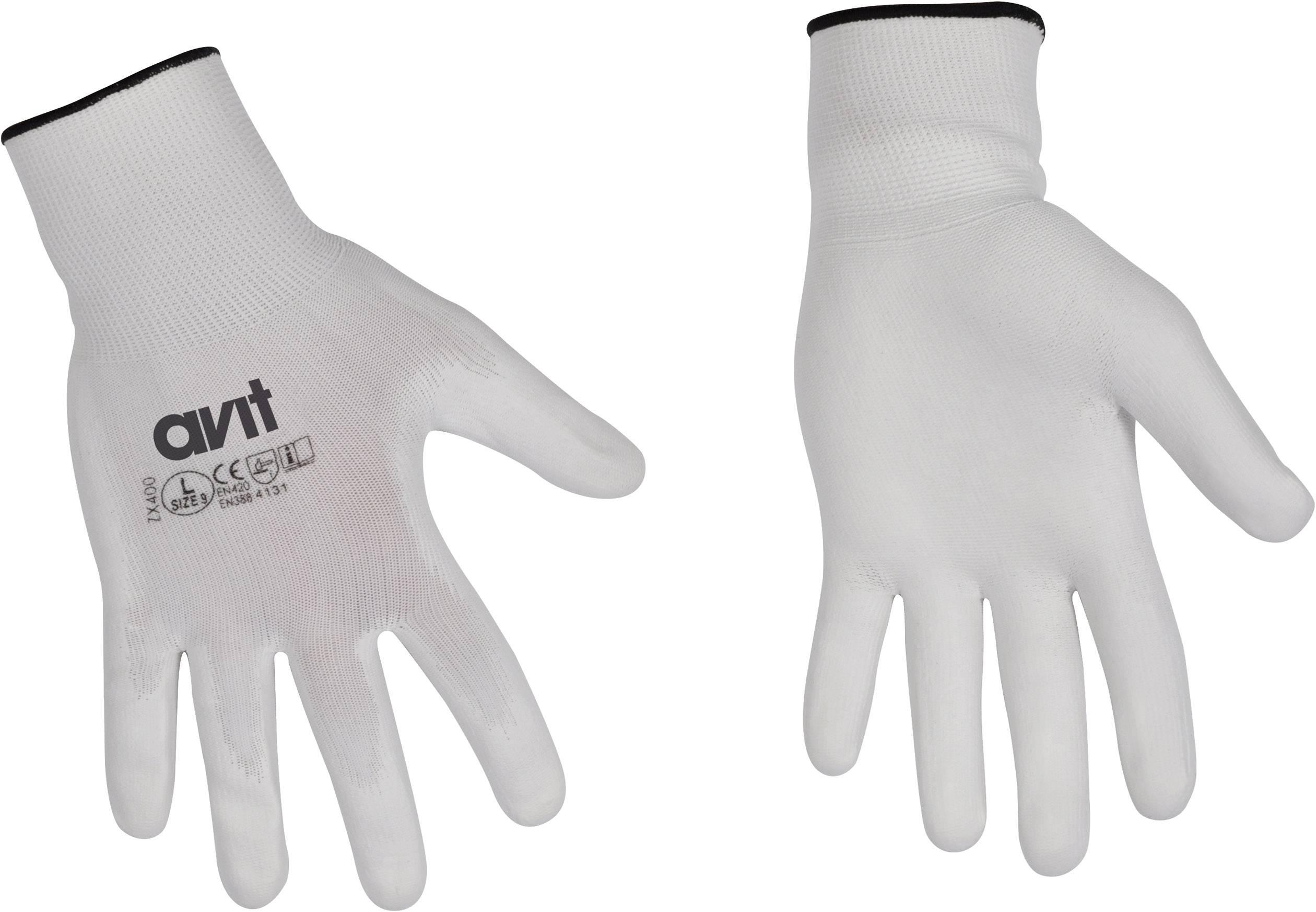 Pracovní rukavice AVIT AV13075, velikost rukavic: 10, XL