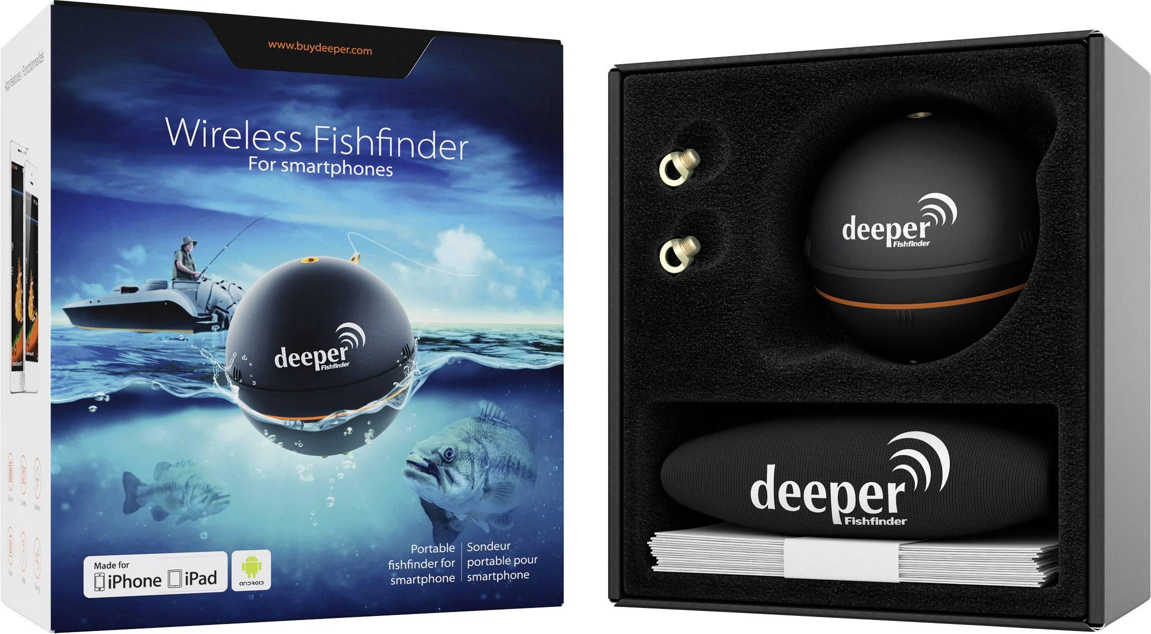 Mobilní vyhledávač ryb Deeper Smart Sonar deeper 005-1001010 Smart