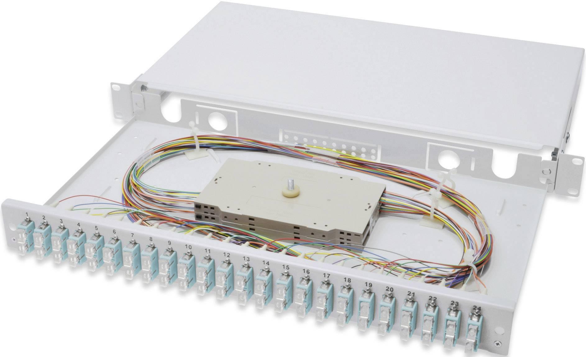 Digitus Professional DN-96322/3, 24 portov, SC, 1 U
