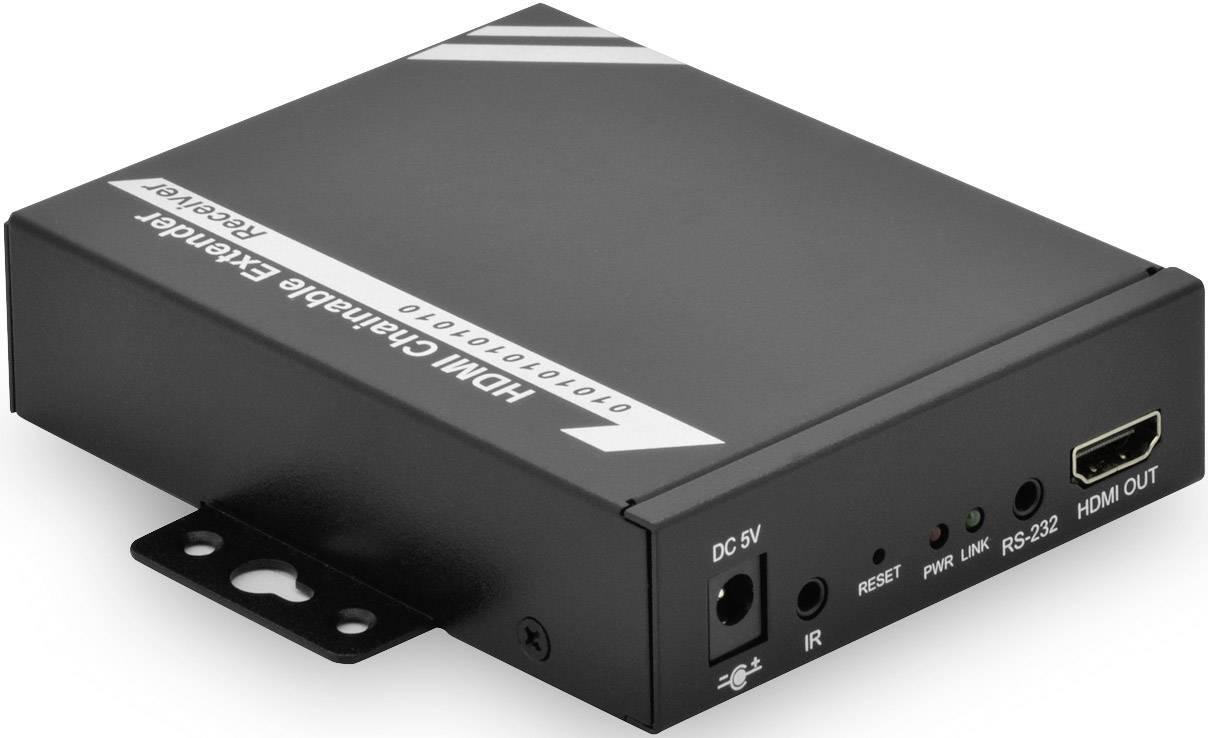 LAN (až 100 Mbit/s) extender (prodloužení) přes síťový kabel RJ45, Digitus Professional DS-55201, 100 m, N/A