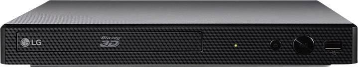 3D Blu-Ray přehrávač LG Electronics BP450, Smart TV, Full HD upscaling, černá
