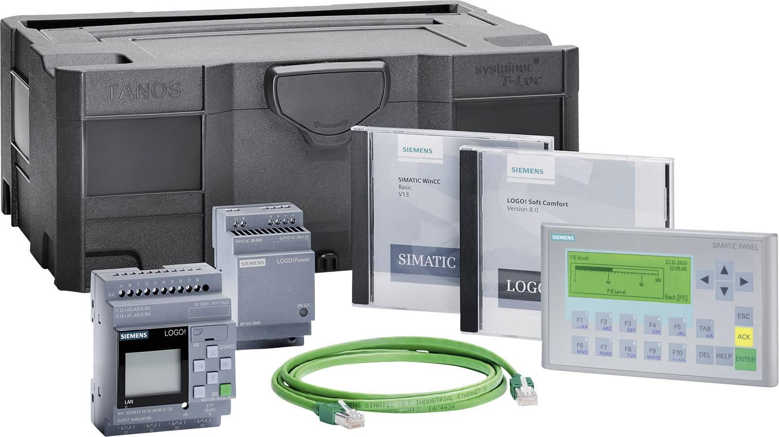 Štartovacia súprava Siemens LOGO! KP300 BASIC STARTER LOGO! 12/24RCE 6AV2132-0HA00-0AA1