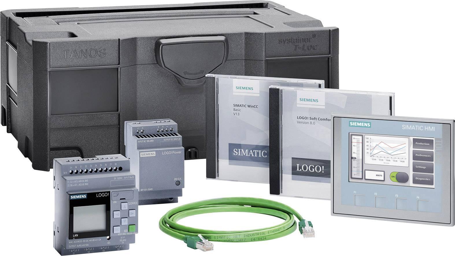 Startovací sada pro PLC Siemens LOGO! KTP400 BASIC STARTER LOGO! 12/24RCE 6AV2132-0KA00-0AA1, 12 V/DC, 24 V/DC