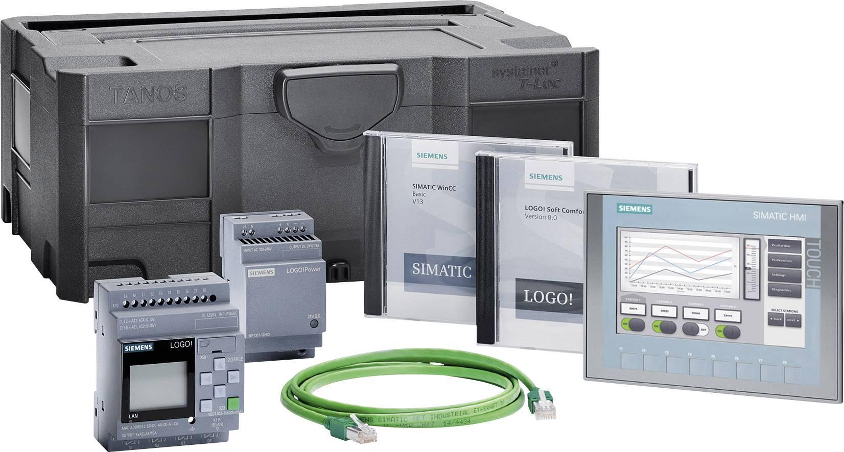 Štartovacia súprava Siemens LOGO! KTP700 BASIC STARTER LOGO! 12/24RCE 6AV2132-3GB00-0AA1