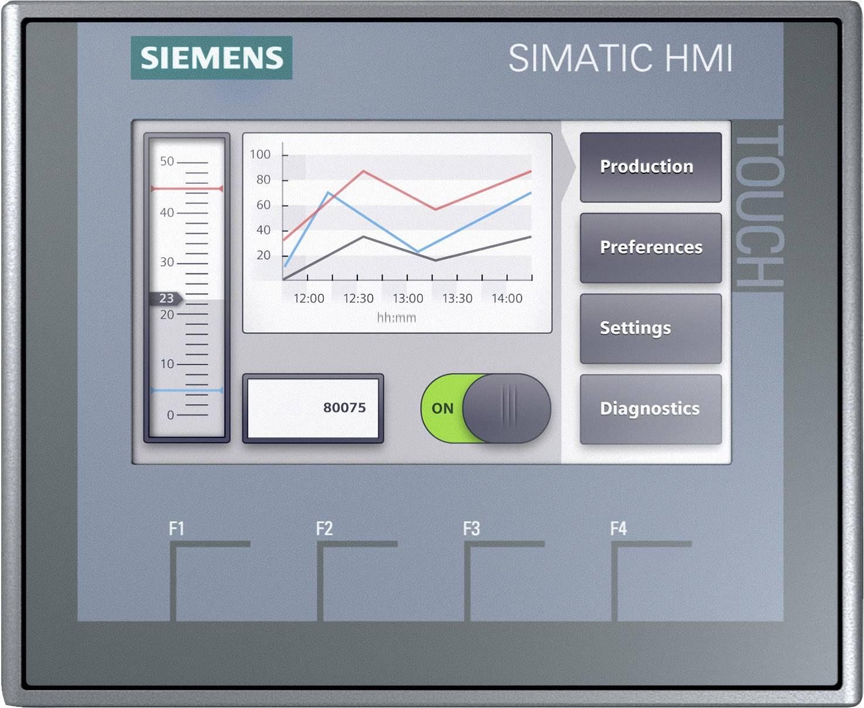 Rozšiřující displej pro PLC Siemens SIMATIC HMI KTP400 BASIC 6AV2123-2DB03-0AX0, 24 V/DC