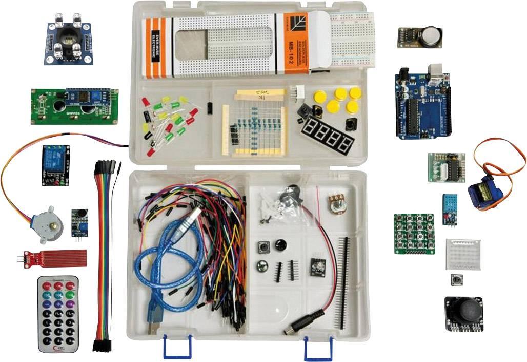 Štartovacia sada Arduino Allnet ArdDevKIT1 138276, ATMega328, USB