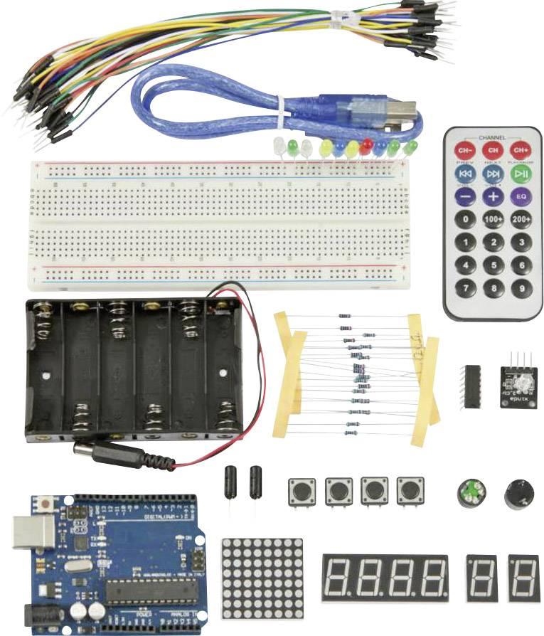 Sada pre začiatočníkov Allnet ALL-E-2 114568, ATMega328, USB