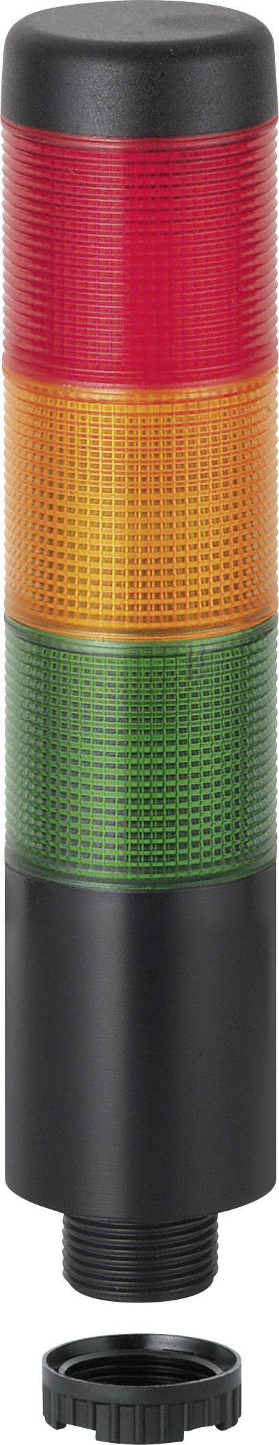 Signalizačný stĺpik LED Werma Signaltechnik WERMA KombiSign 71 698.110.75, 24 V/AC, 24 V/DC, trvalé svetlo, zelená, žltá, červená
