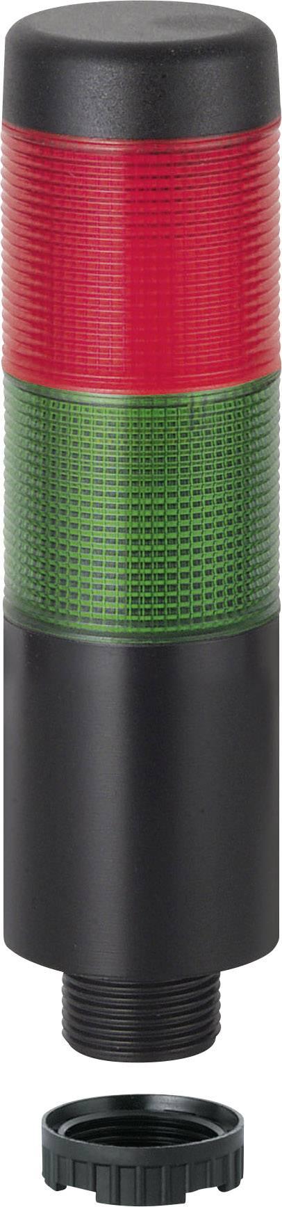 Signální sloupek LED Werma Signaltechnik WERMA KombiSign 71 698.120.75, 24 V/AC, 24 V/DC, trvalé světlo, zelená, červená
