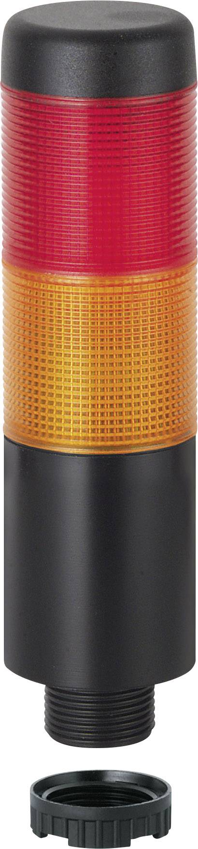 Signální sloupek LED Werma Signaltechnik WERMA KombiSign 71 698.130.75, 24 V/AC, 24 V/DC, trvalé světlo, žlutá, červená