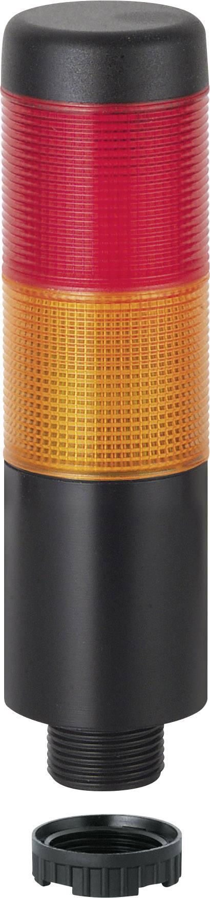 Signální sloupek LED Werma Signaltechnik WERMA KombiSign 71 trvalé světlo žlutá, červená, 24 V/AC, 24 V/DC