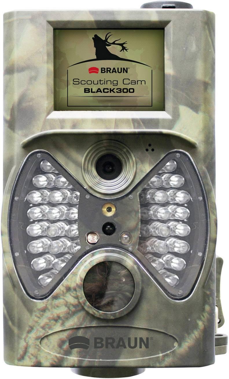 Fotopast Braun Germany Scouting Cam, 12 MPix, černé LED diody, dálkové ovládání, maskáčová