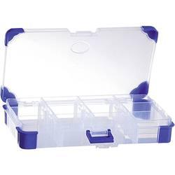 Krabička na drobné súčiastky VISO JAP 2011, priečinkov: 12, 200 x 110 x 30 , priehľadná