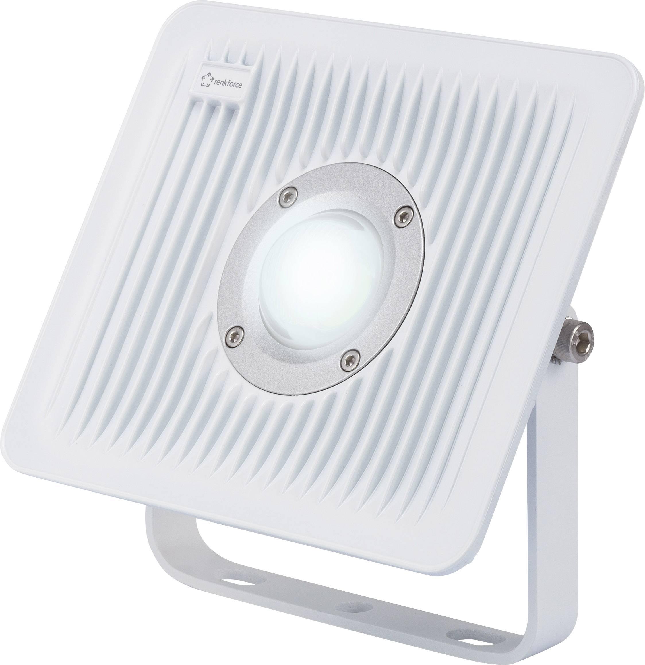 LED reflektor 30 W RENKFORCE, studená biela