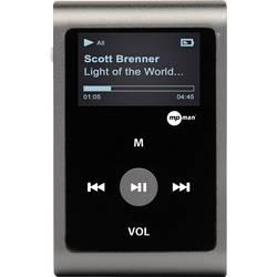 MP3 přehrávač mpman MP30WOM, upevňovací klip, šedá